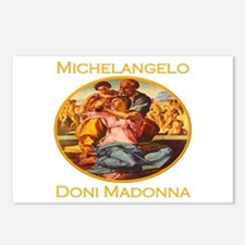 Doni Madonna Postcards (Package of 8)