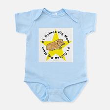 #1 Guinea Pig Mom Infant Creeper