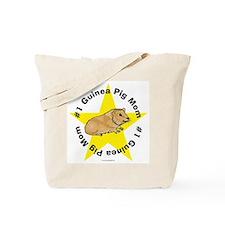 #1 Guinea Pig Mom Tote Bag