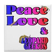Leopard Gecko Tile Coaster