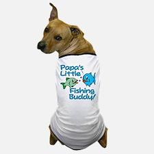 PAPA'S LITTLE FISHING BUDDY! Dog T-Shirt