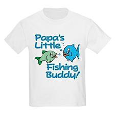 PAPA'S LITTLE FISHING BUDDY! T-Shirt
