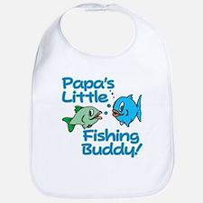 PAPA'S LITTLE FISHING BUDDY! Bib