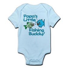 PAPA'S LITTLE FISHING BUDDY! Onesie