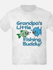 GRANDPA'S LITTLE FISHING BUDDY! T-Shirt