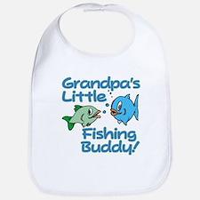 GRANDPA'S LITTLE FISHING BUDDY! Bib