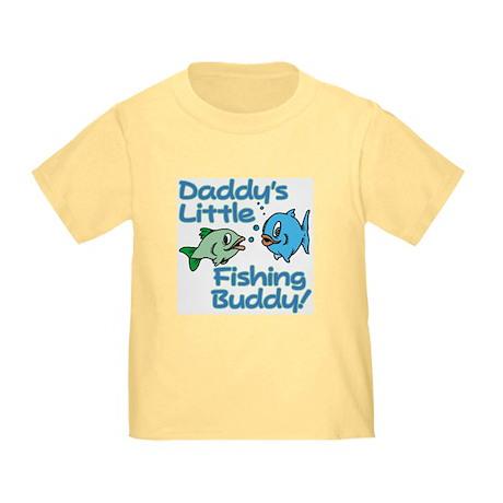 DADDY'S LITTLE FISHING BUDDY! Toddler T-Shi