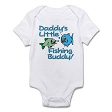 DADDY'S LITTLE FISHING BUDDY! Infant Bodysuit