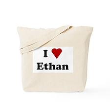I Love Ethan Tote Bag
