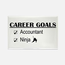 Accountant Carreer Goals Rectangle Magnet