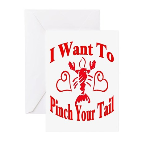 Want To Pinch Yor Tail Greeting Cards (Pk of 20)