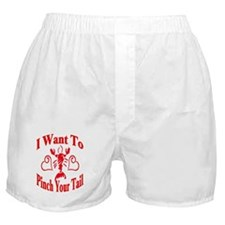 Want To Pinch Yor Tail Boxer Shorts