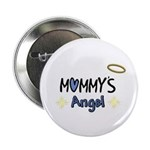 """MOMMY'S LYTTLE ANGEL 2.25"""" Button (10 pack)"""