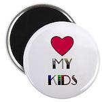 "love my kids 2.25"" Magnet (10 pack)"