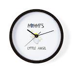 MOMMY'S LYTTLE ANGEL Wall Clock