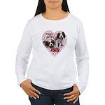 Cavalier Puppy Love Women's Long Sleeve T-Shirt