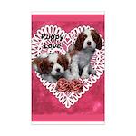 Cavalier Puppy Love Mini Poster Print