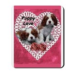 Cavalier Puppy Love Mousepad