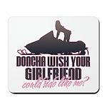 Ride like me Mousepad