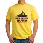 Ride like me Yellow T-Shirt