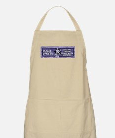 Please Officer... I Was Only BBQ Apron