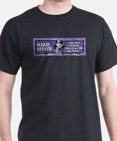 Please Officer... I Was Only T-Shirt