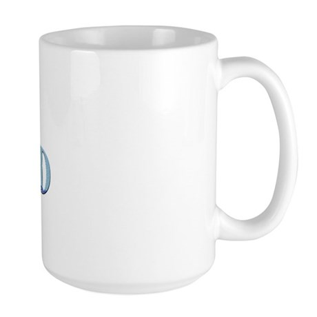 Curling Dad Large Mug