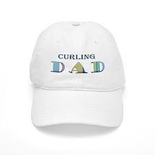 Curling Dad Baseball Cap