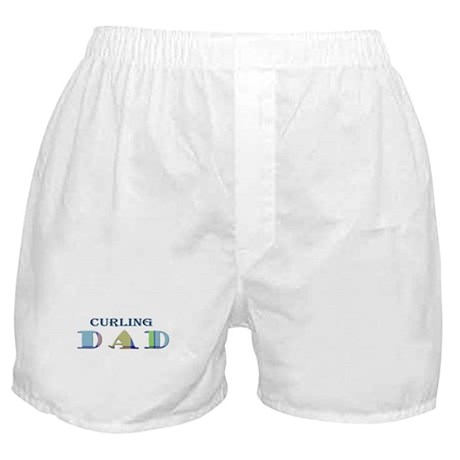 Curling Dad Boxer Shorts