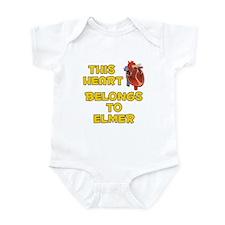This Heart: Elmer (A) Infant Bodysuit