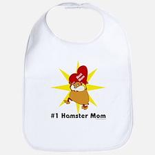 #1 Hamster Mom Bib