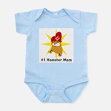 #1 Hamster Mom Infant Creeper
