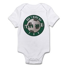 "Don't Make Me ""Head Butt"" You Infant Bodysuit"