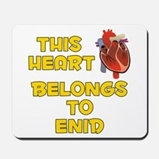 This Heart: Enid (A) Mousepad