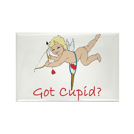Got Cupid? Rectangle Magnet (100 pack)