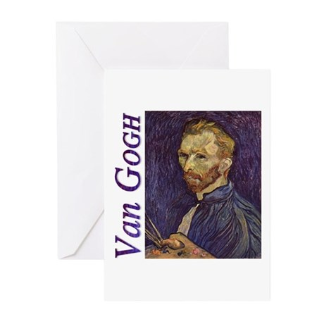 Self-portrait Greeting Cards (Pk of 10)