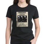 Tombstone Murder Women's Dark T-Shirt