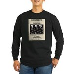 Tombstone Murder Long Sleeve Dark T-Shirt