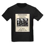 Tombstone Murder Kids Dark T-Shirt