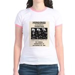 Tombstone Murder Jr. Ringer T-Shirt