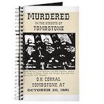 Tombstone Murder Journal