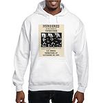 Tombstone Murder Hooded Sweatshirt