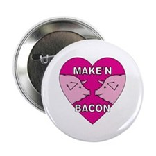 """Make'n Bacon 2.25"""" Button (100 pack)"""
