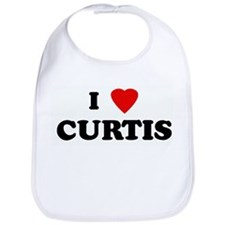 I Love CURTIS Bib