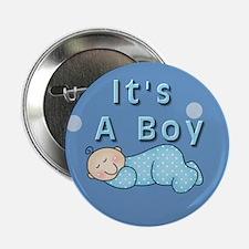 """It's A Boy 2.25"""" Button"""