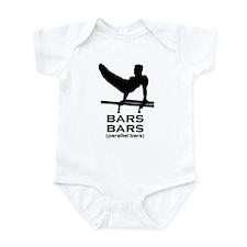 Bars black Body Suit
