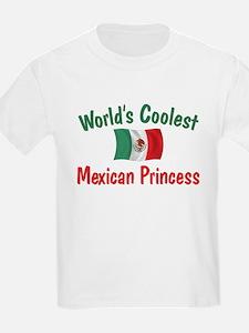 Coolest Mexican Princess T-Shirt
