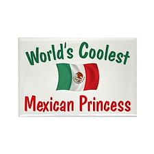 Coolest Mexican Princess Rectangle Magnet