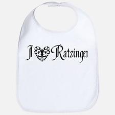 I *heart* Ratzinger! Bib