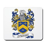 Sturgis Coat of Arms Mousepad